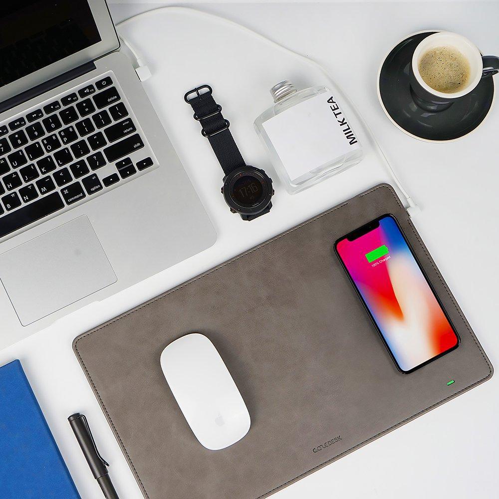 GAZEPAD PRO Wireless Charging Mouse Pad
