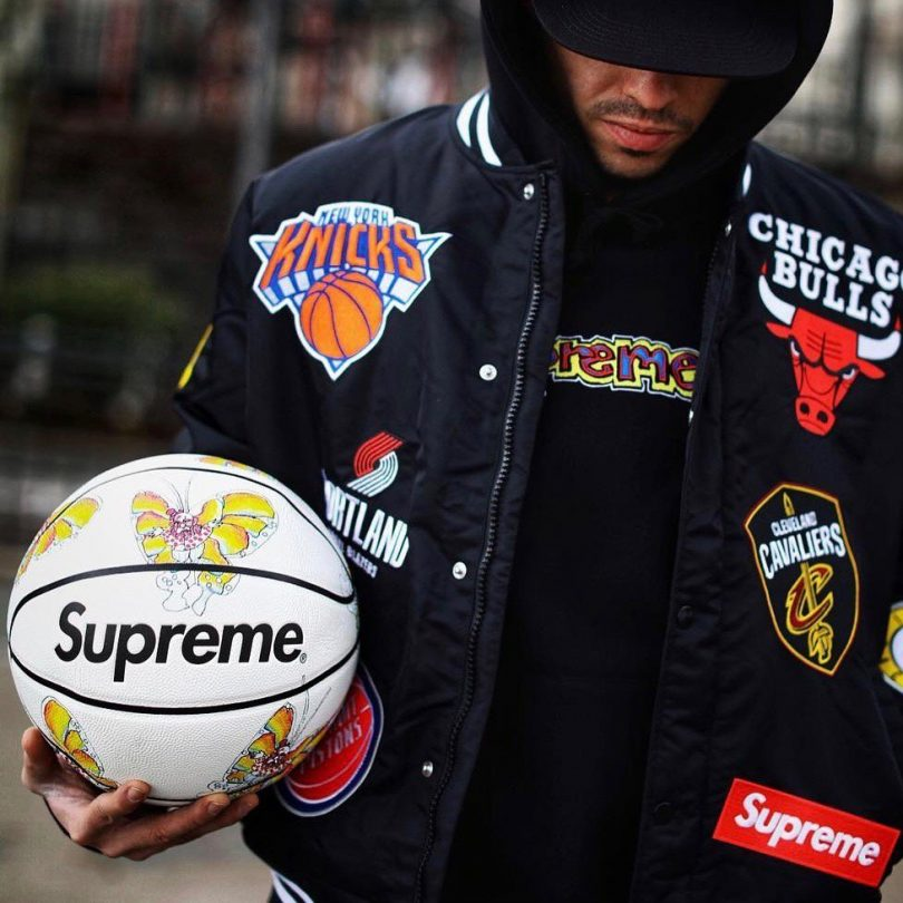 Supreme Gonz Butterfly Spalding Basketball