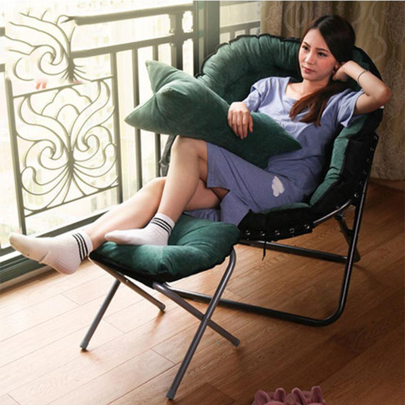 Japanese Style Lazy Beanbag Single Sofa Couch