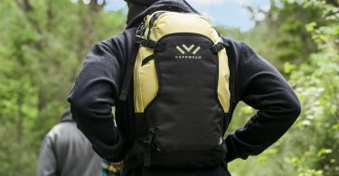 Vaprwear Black & Gold HydroVape Backpack