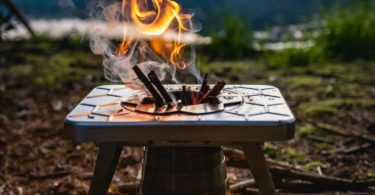 Multi-Fuel Camp Stove