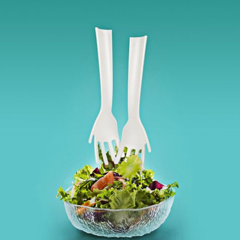Idle Hands Salad Tongs