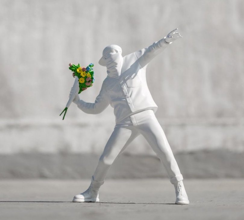 Medicom x Banksy Flower Bomber (2016)