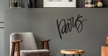 Paris Metal Wall Art