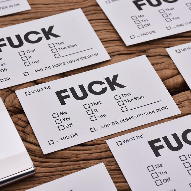 F*ck Cards