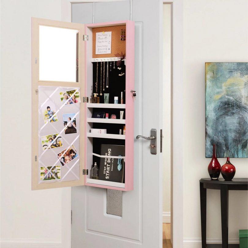 Chavell Over the Door Hanging Vanity