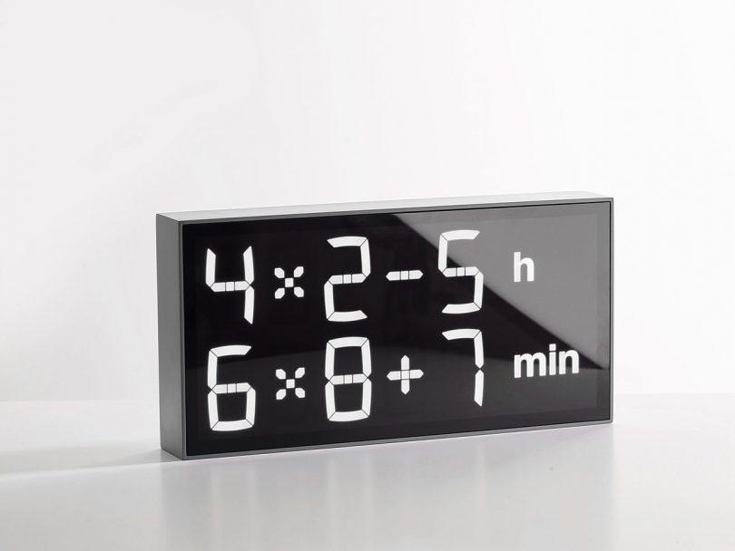 Albert Clock Concrete Grey