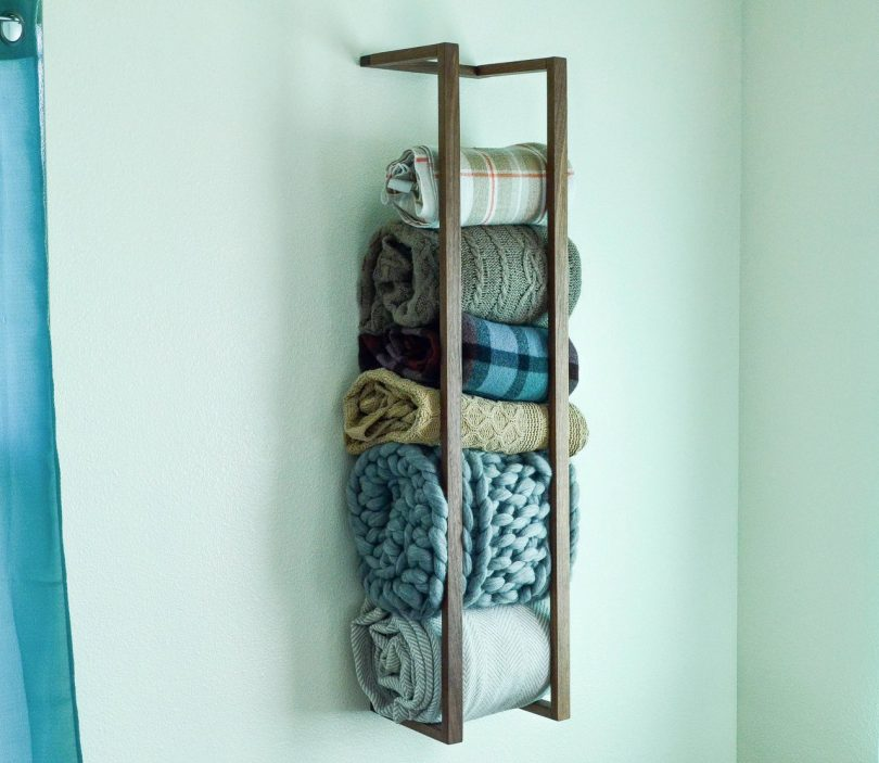 Blanket Wall Rack