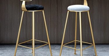 Nordic Modern Iron Bar Stool