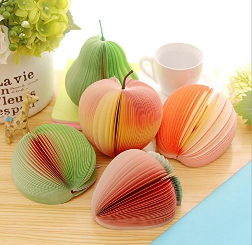 Memo Notes 3D Fruit Shape Non-Sticky