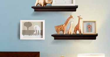 AHDECOR Floating Shelves Espresso