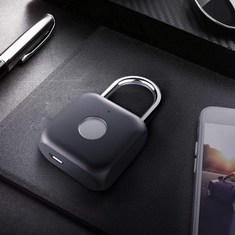 Fingerprint Padlock – eLinkSmart Keyless Biometric Lock
