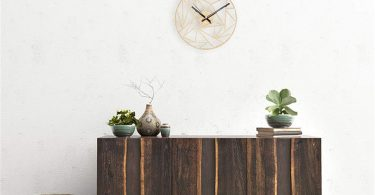 XSWZAQ Wooden Wall Clock