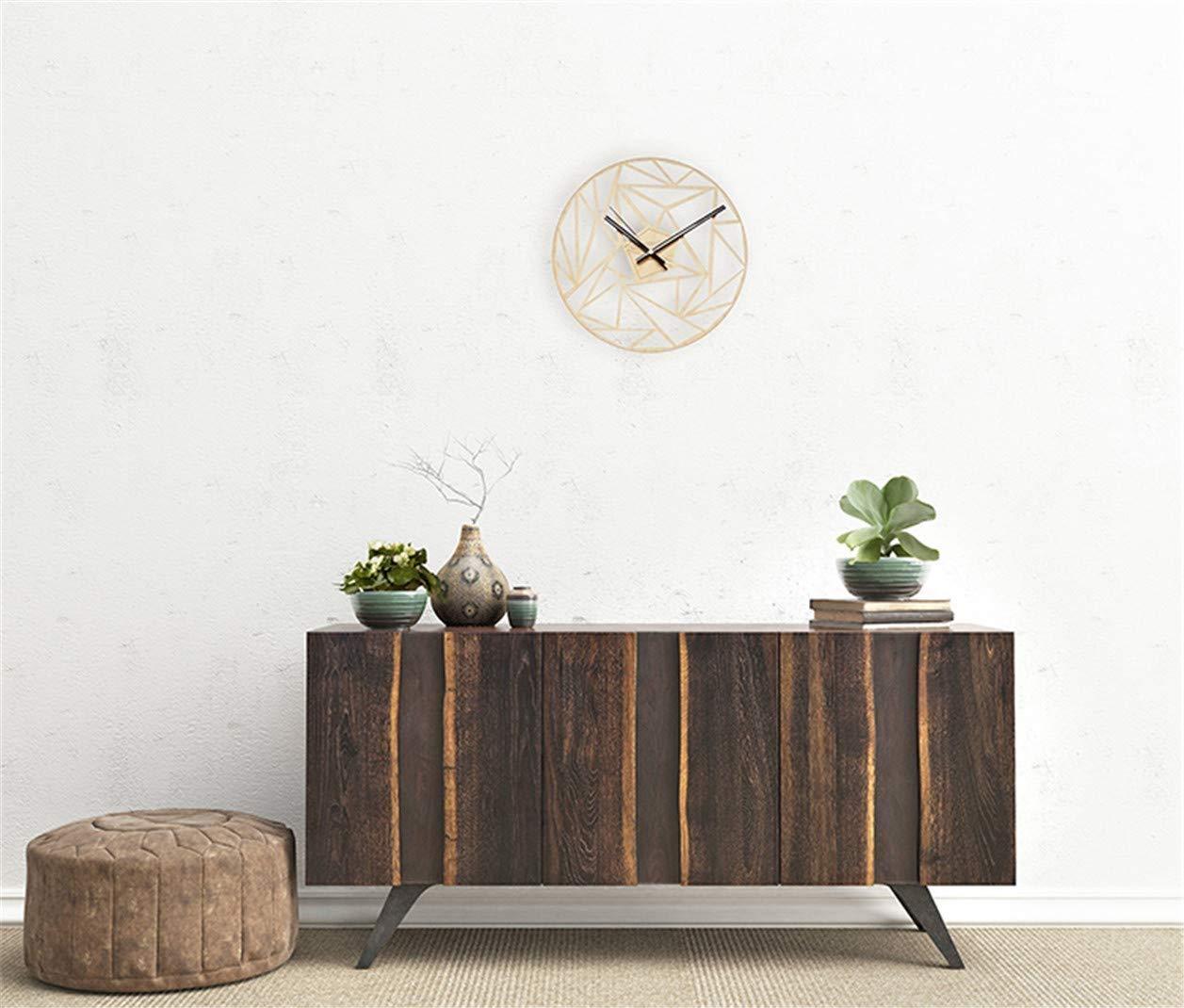 XSWZAQ Wooden Wall Clock
