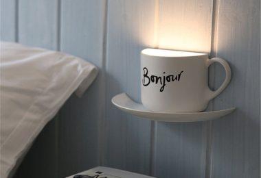Coffee Cup DIY LED Night Lamp