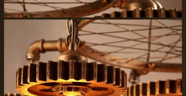 JinYuZe 7 Lights Industrial Ceiling Pendant Light