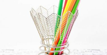 Badminton Pen Holder