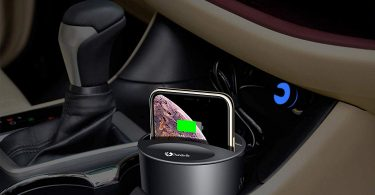 Fast Qi Wireless Car Charger Cup Holder Mount Holder for Samsung and Iphone Smartphone
