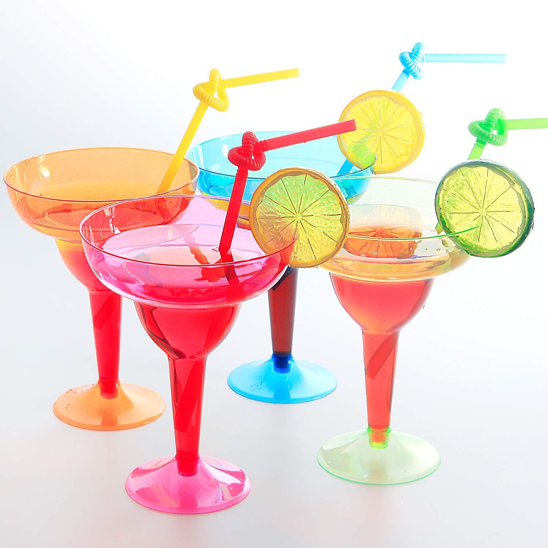Plastic Margarita Glasses