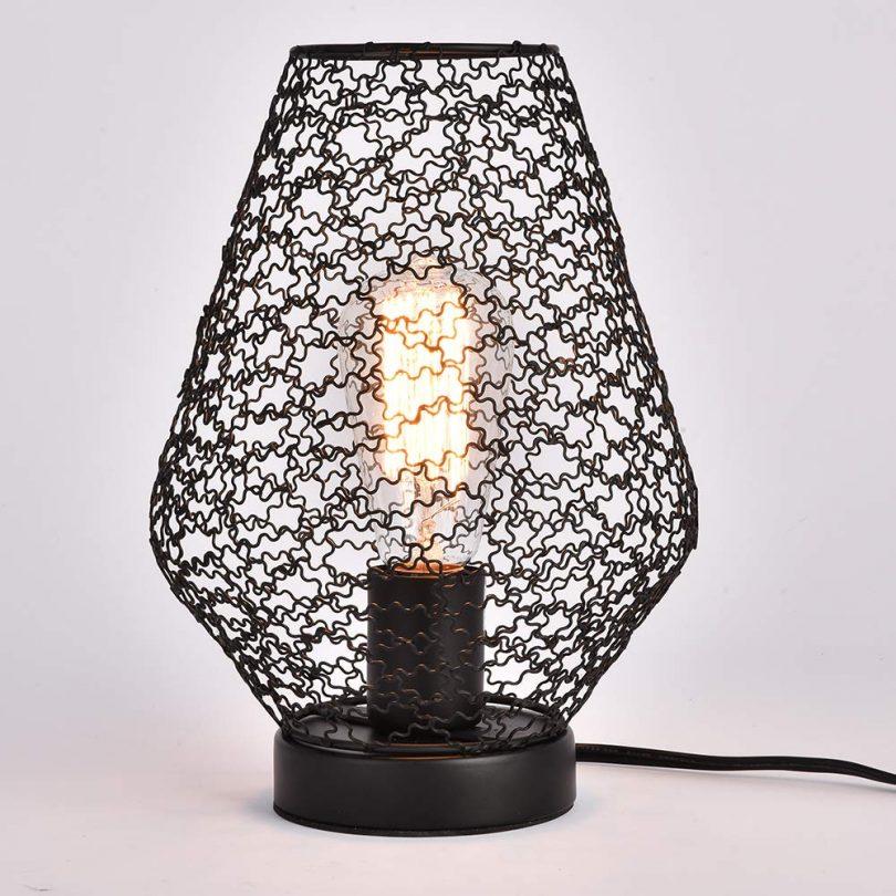 MonDaufie Industrial Metal Table Lamp