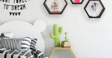 Halter Hexagonal Shaped Floating Shelves