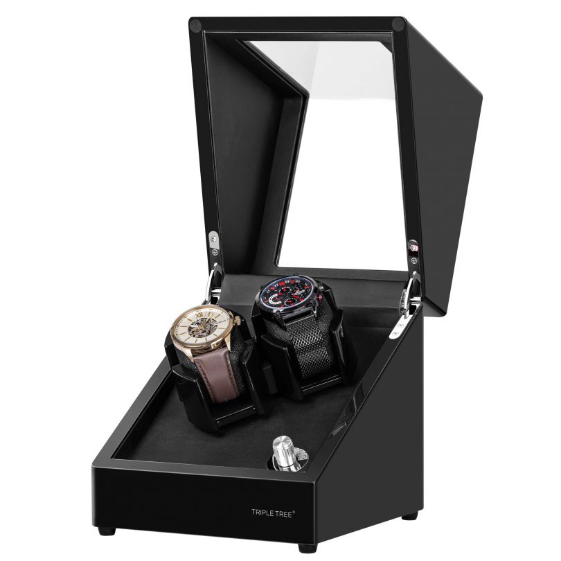 TRIPLE TREE Watch Winder for 2 Automatic Watches