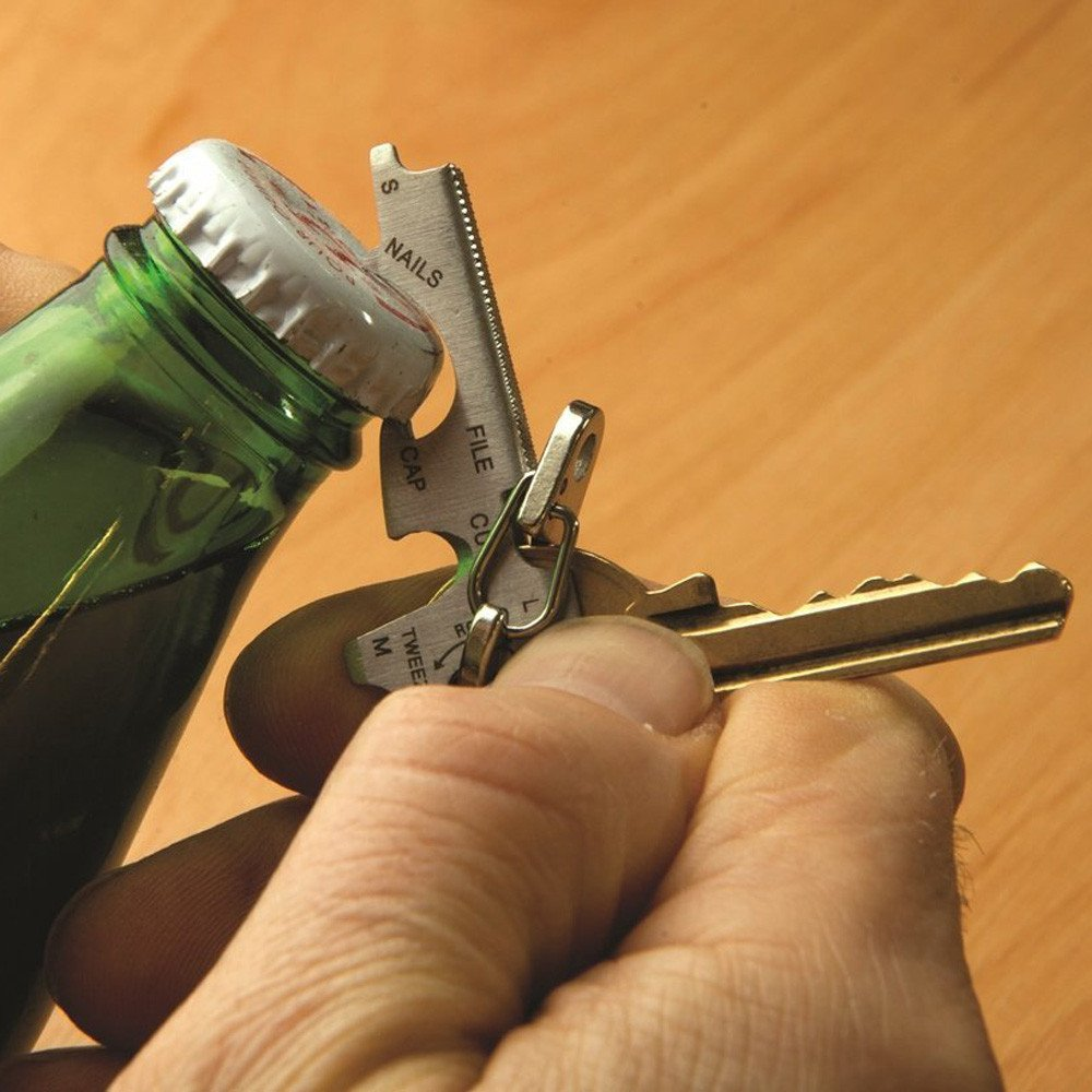 LIXUAN Bottle Opener Keychain
