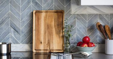 Large Reversible Multipurpose Thick Acacia Wood Cutting Board