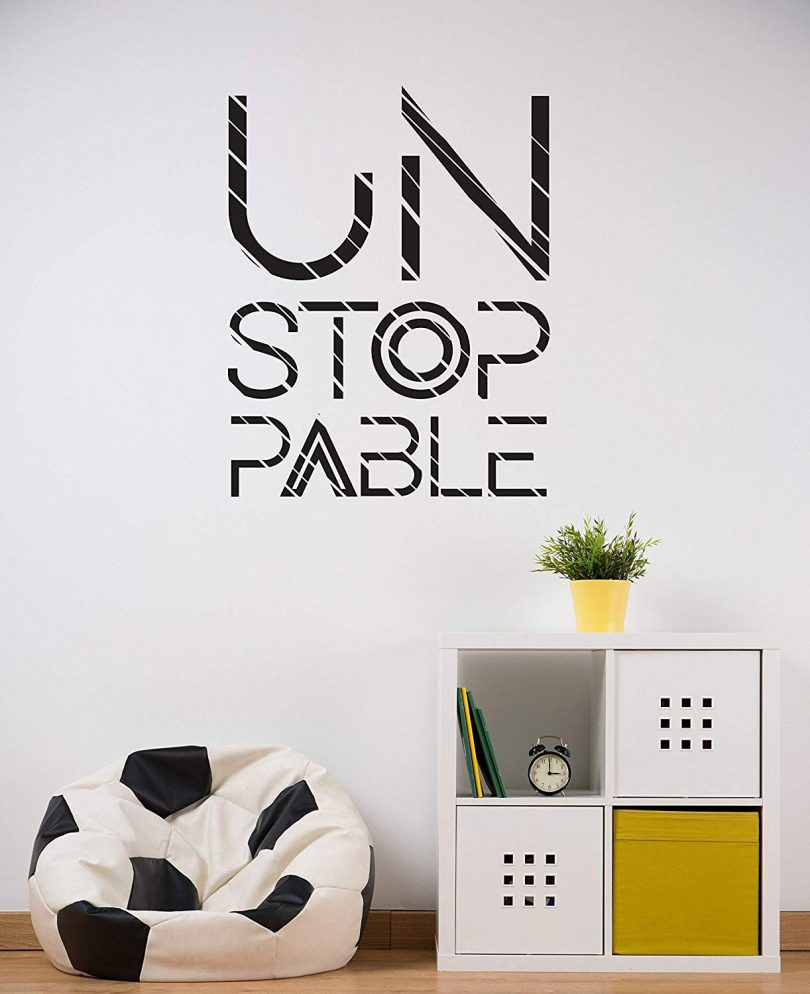 Unstoppable Wall Decal
