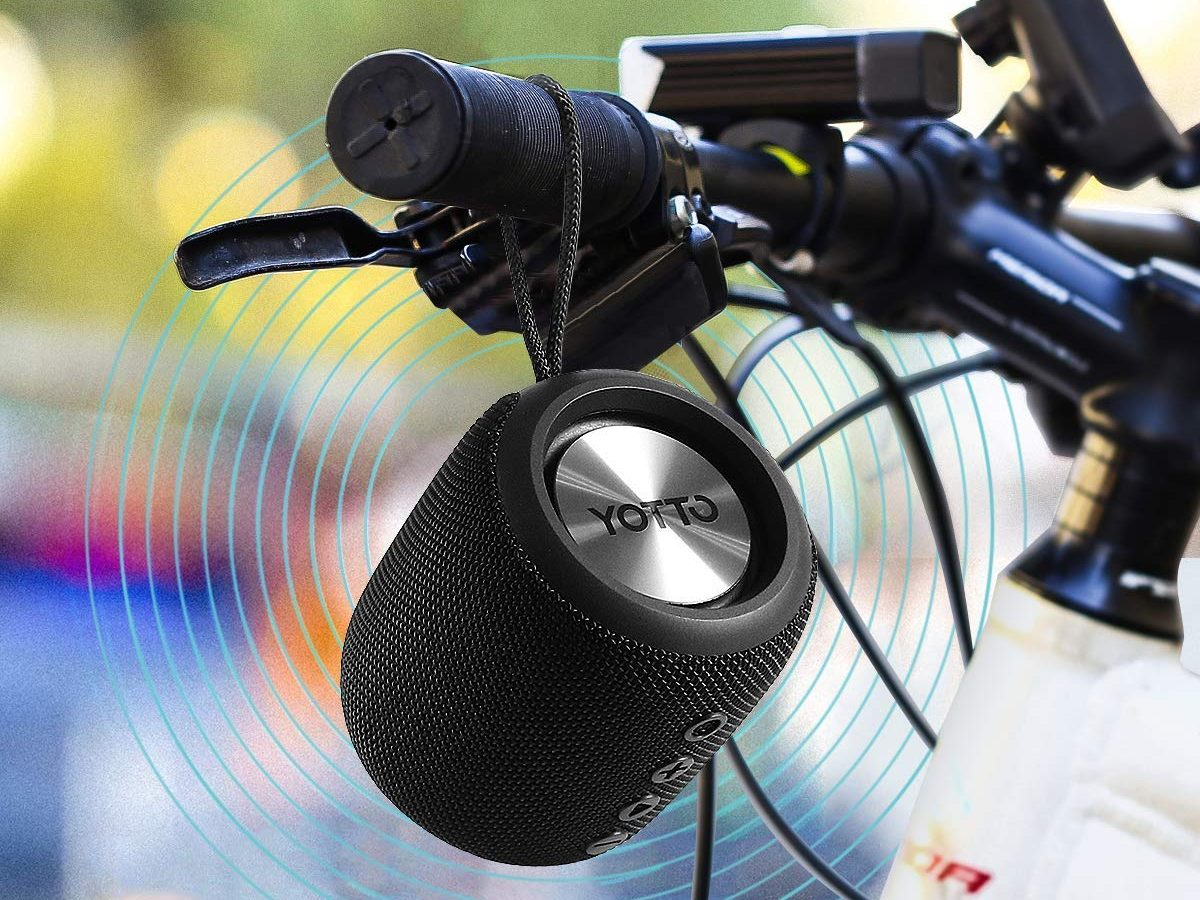 YOTTO Portable Bluetooth 4.2 Speaker