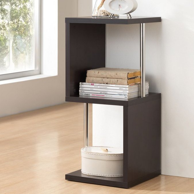 Lindy Dark Brown Display Shelf