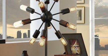 Spectrum Metal Table Lamp