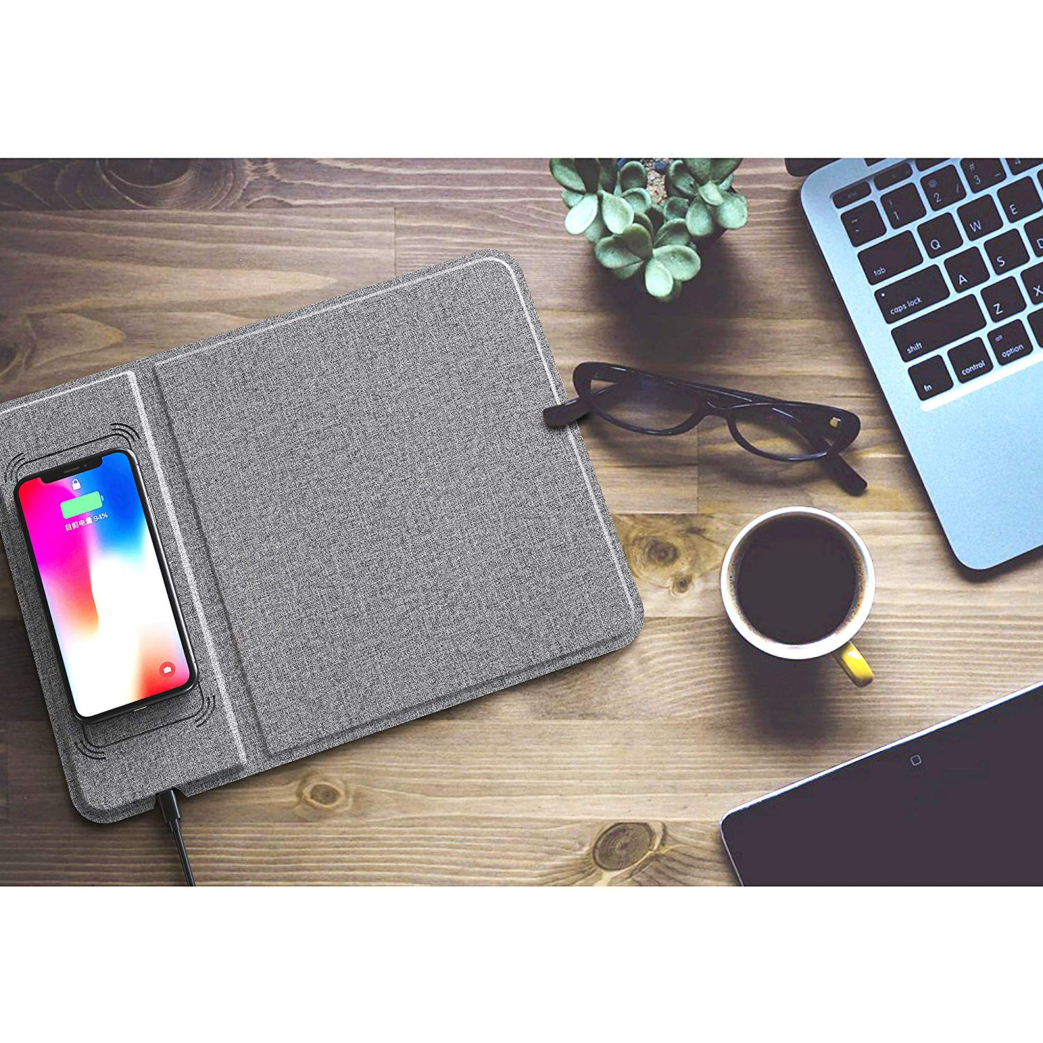 Wireless Mouse Pad Mat Charger