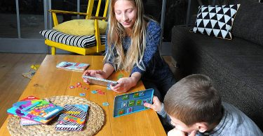 Magnetic Travel Dominoes Game