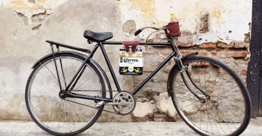 Six-Pack Bike Cinch (Bicycle Beer Carrier) Handmade by Hide & Drink