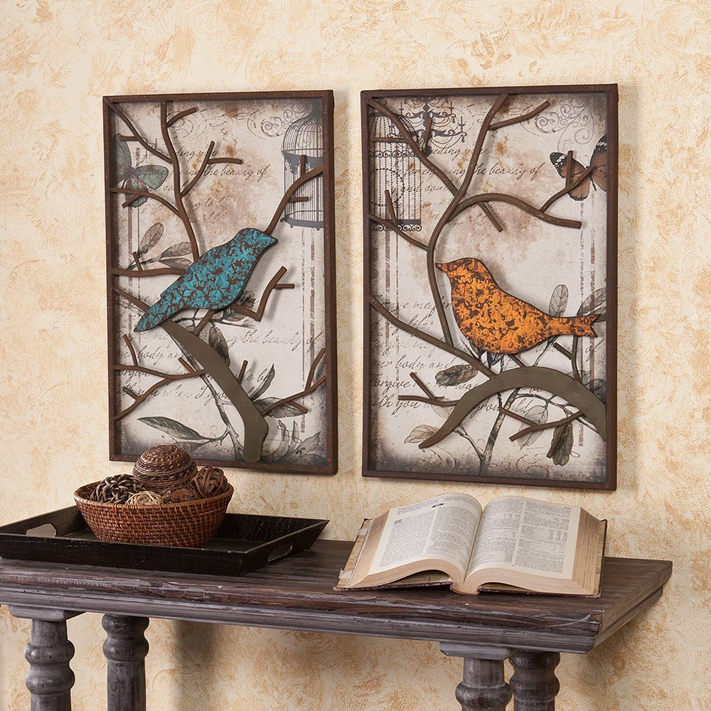 Cranston Vintage Bird Wall Panel