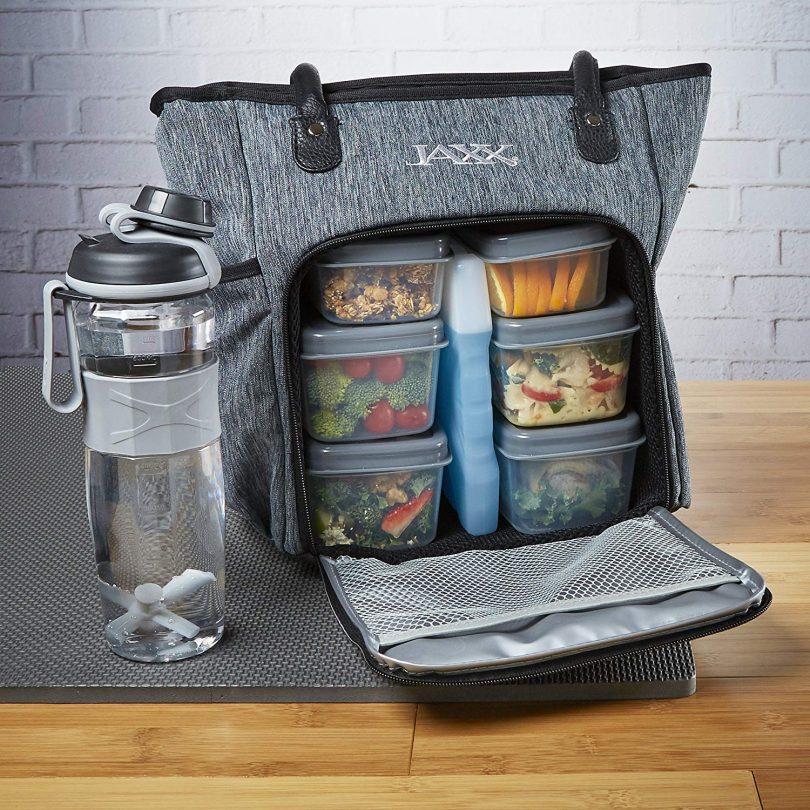 Fit & Fresh Jaxx FitPak Commuter Meal Prep Bag