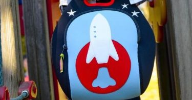 Space Rocket Lunch Bag