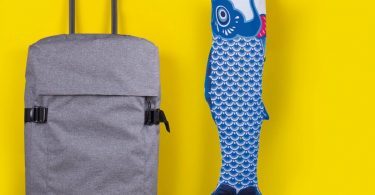 Koinobori Blue Travel Laundry Bag