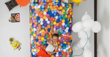 Ball Pit Bedding by Snurk
