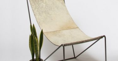 Cowhide Sling Chair