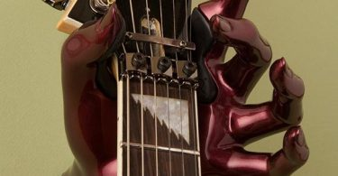 Cherry Valkyrie Guitar Hanger – Left Hand