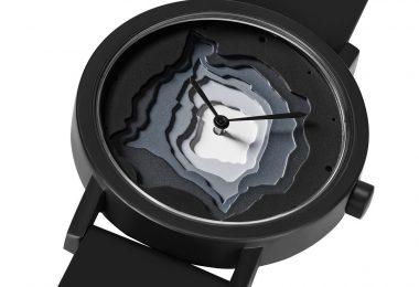 Black Terra Time Watch