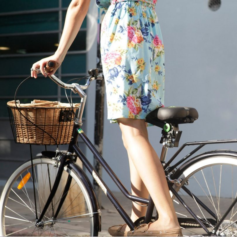 Seatylock Comfort Classic Black Bicycle Seat