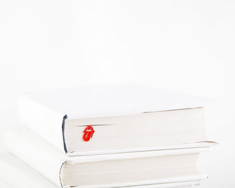 Book Bookmark Rolling Stones