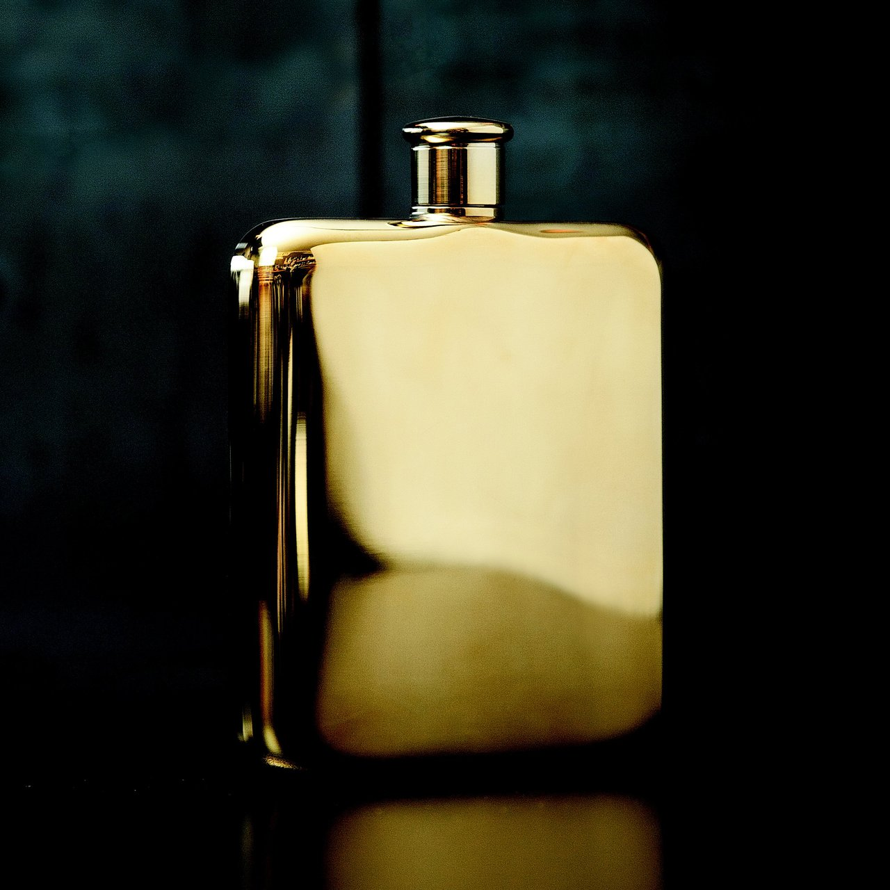 Belmont Gold Plated Flask by Viski