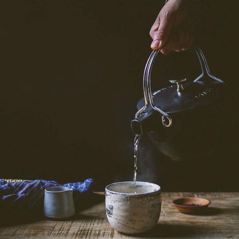 Staub Cast Iron Tea Kettle