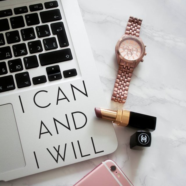I Can And I Will MacBook Palm Rest Decal
