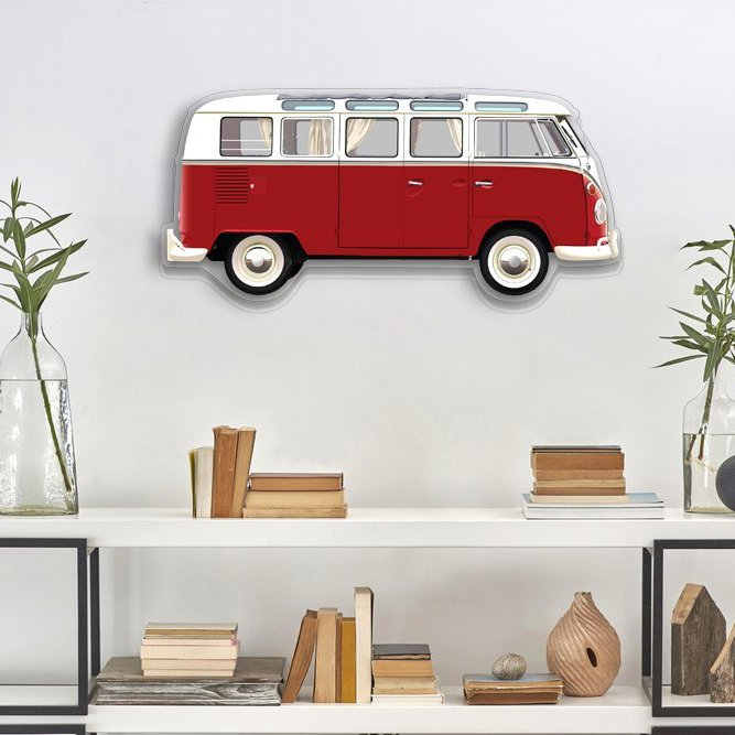 VW T1 Kombi Plexiglas Wall Model