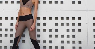 Black/Cocoa Radiate Legging